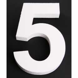 Piepschuim 5 cijfer 25