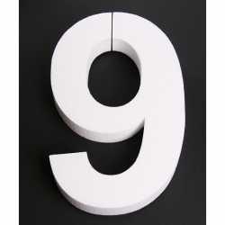 Piepschuim 9 cijfer 25