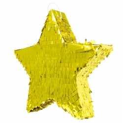 Pinata glimmende gouden ster