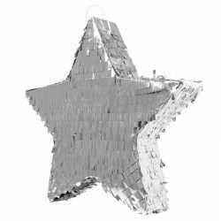 Pinata glimmende zilveren ster