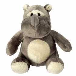 Pluche knuffel neushoorn 12
