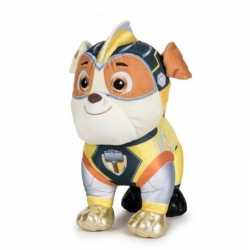 Pluche paw patrol rubble mighty pups super paws knuffel 19