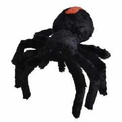 Pluche zwarte roodrugspin/spinnen knuffel 35 speelgoed