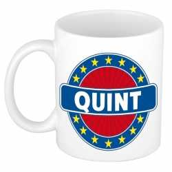 Quint naam koffie mok / beker 300 ml