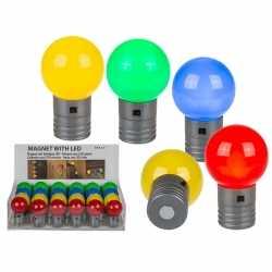 Rood magneet led lampje 4,5