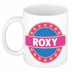 Roxy naam koffie mok / beker 300 ml