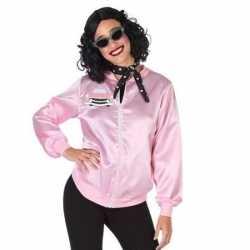 Roze rock and roll verkleed jasje dames