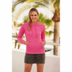 Roze sweater/hoodie capuchon dames