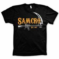 SAMCRO t-shirt heren