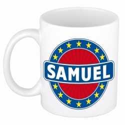 Samuel naam koffie mok / beker 300 ml