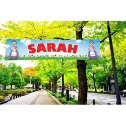 Sarah PVC spandoek 200 bij 50