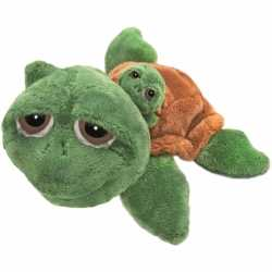 Schildpad knuffel baby 24