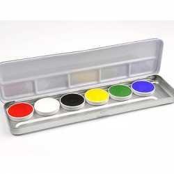 Schmink palet 6 kleuren