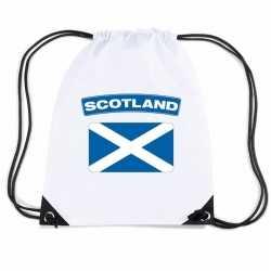 Schotland nylon rugzak wit schotse vlag