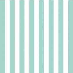 Servetten blauw wit gestreept 3 laags 20 stuks