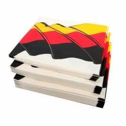 Servetten Duitsland 50 stuks