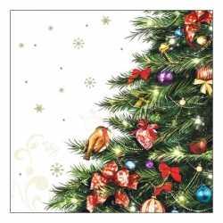 Servetten kerstboom 20 stuks
