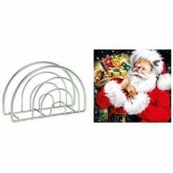 Servettenhouder kerst servetten kadozak