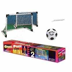 Set van 2 voetbal goals 92 bij 63 kleine voetbal