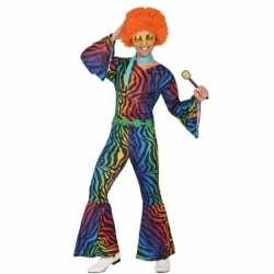 Seventies/disco verkleedkleding heren