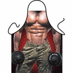 Sexy schort bodybuilder