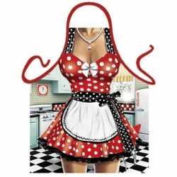 Sexy schort keukenmeid