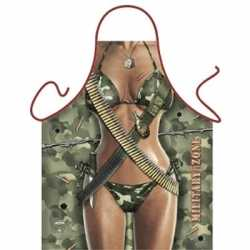Sexy schort Military Zone Vrouw