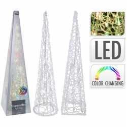 Sfeerpiramide 60 30 led lampjes veranderen kleur