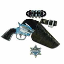 Sheriff pistool speelgoed setje