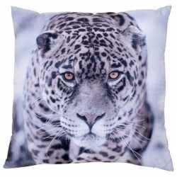 Sierkussen print van jaguar/luipaard 30 bij 30