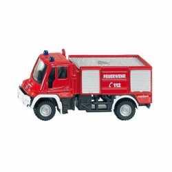 Siku brandweerwagen Unimog