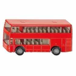Siku dubbeldekker bus speelgoed modelauto 10