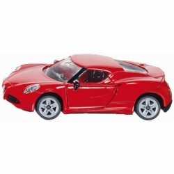 Siku rode sportauto Alfa Romeo 4c