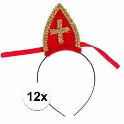 Sinterklaas 12 bij sinterklaas diadeem mijter kinderen