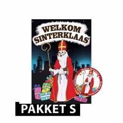 Sinterklaas deurposter 50 onderzetters sinterklaas