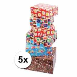 Sinterklaas inpakpapier 5 rollen