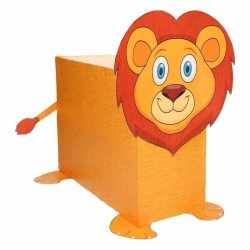 Sinterklaas leeuw zelf maken knutselpakket
