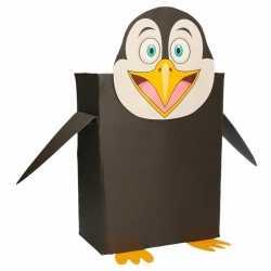 Sinterklaas pinguin sinterklaas surprise zelf maken knutselpakket