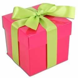 Sinterklaas Roze decoratie kadootjes 10