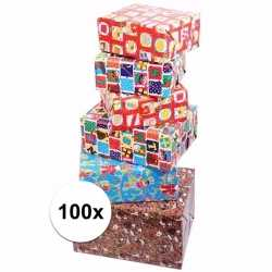 Sinterklaas sinterklaas kadopapier 100 rollen