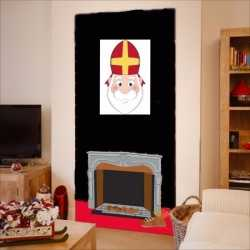 Sinterklaas sinterklaas wanddecoratie 42