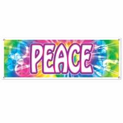 Sixties peace banner 150