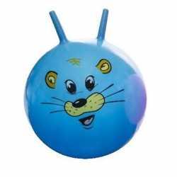 Skippybal dieren gezicht blauw 46