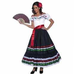 Spaanse danseres kostuum dames