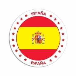 Spanje sticker rond 14,8