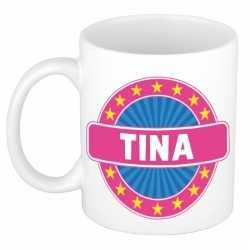 Tina naam koffie mok / beker 300 ml