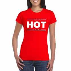 Toppers hot t shirt rood dames