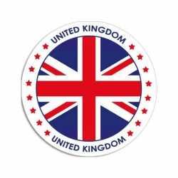 United Kingdom sticker rond 14,8