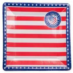 USA thema borden 8 stuks
