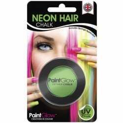 Uv haarkrijt groen